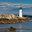 Portsmouth Harbor Lighthouse, New Castle, NH by Stephen Cross Photography