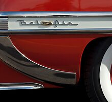 1953 Chevrolet Belair Rear Wheel by Jill Reger
