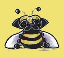 Pug-a-Bee by offleashart