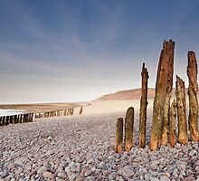 Old Groynes by kernuak