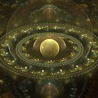 The Realm of Treasures by Craig Hitchens - Spiritual Digital Art