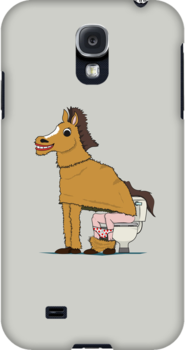 Horse on Toilet by Andy Scullion