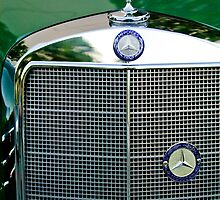 Mercedes-Benz Grille by Jill Reger