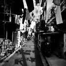 Old Shanghai Laneway by Tim Binnion