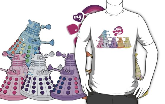 My Little Dalek: Extermination is Magic by XFizzle