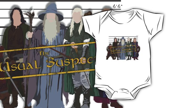Lord of the Rings - The Usual Suspects: Heroes by grevls