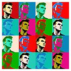 Steven Patrick Morrissey vs Andy Warhol by PheromoneFiend