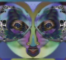 Perception - Expressionism Digigraph by L. R. Emerson II by L R Emerson II