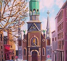 Bonsecour Chapel, Vieux Montreal by Dan Wilcox
