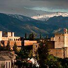 Alhambra Granada Spain by sloweater