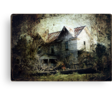 An Art of Decay Canvas Print