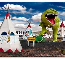 Painted  Desert Indian Center by gwarn