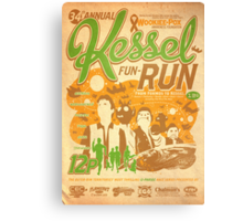 Kessel Fun-Run (12-Parsec Race to Cure Wookiee-Pox) Canvas Print
