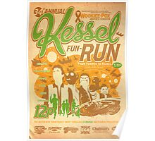 Kessel Fun-Run (12-Parsec Race to Cure Wookiee-Pox) Poster