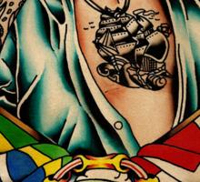 "Old Timers - Knud Gregersen ""Lucky Tattoo"" Sticker"