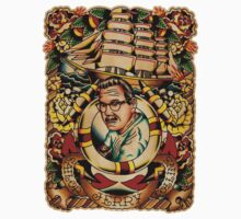 """Old Timers - Norman Collins """"Sailor Jerry"""" by chuckcarvalho"""