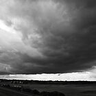 Stormy clouds above Wells-next-the-sea North Norfolk coast, United Kingdom by Magdalena Warmuz-Dent
