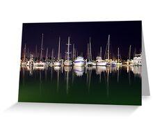 Cullen Bay Boats Greeting Card