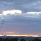 Sunrise over Leongatha by Joan Wild