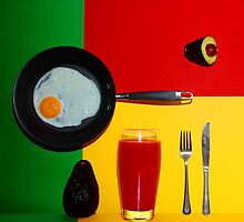 Psychedelic Breakfast by andreisky