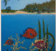 Under the sea by Marie Luise  Strohmenger