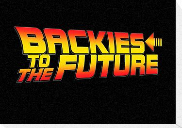 BACKIES TO THE FUTURE by Robin Brown