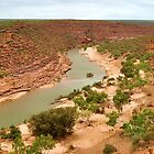 Kalbarri Gorge by Keri Buckland