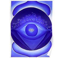 6th Chakra - Third Eye Chakra Poster