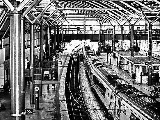 Leeds Station by Glen Allen