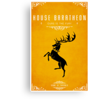 House Baratheon Canvas Print