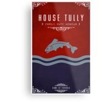 House Tully Metal Print