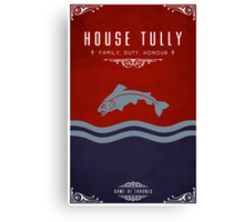 House Tully Canvas Print