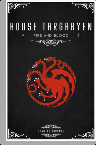 House Targaryen by liquidsouldes