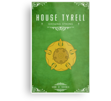 House Tyrell Metal Print