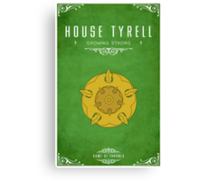 House Tyrell Canvas Print