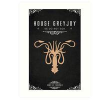 House Greyjoy Art Print