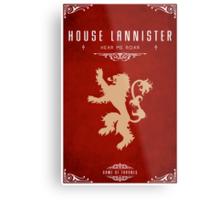 House Lannister Metal Print