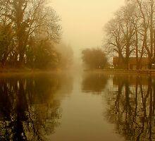 Drakeholes Morning Mist by John Dunbar