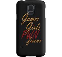 Gamer Girls PWN faces Samsung Galaxy Case/Skin