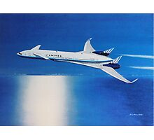 Boeing Sonic Cruiser Concept Aircraft Photographic Print