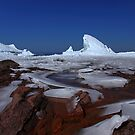 Breaking Ice along the shore of Lake Superior, Ontario Canada by Eros Fiacconi (Sooboy)