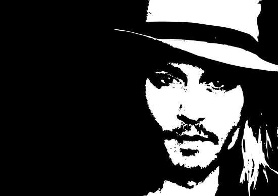 Johnny Depp - Tee by Lauren Eldridge-Murray