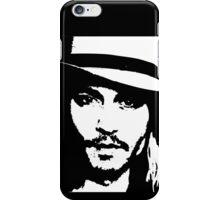 Johnny Depp - Tee iPhone Case/Skin