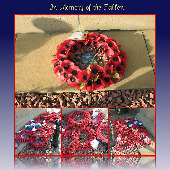 In Memory of the Fallen by kathrynsgallery