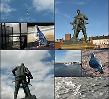 Ahoy there! Tyneside Collage by kathrynsgallery