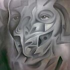 GREY PERSONALITY   by Ehivar Flores Herrera