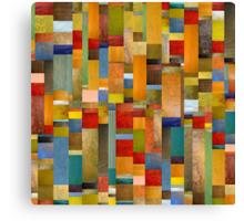 Pieces Parts Canvas Print