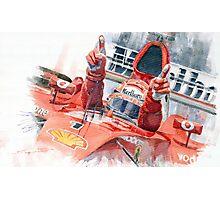 Scuderia Ferrari Marlboro F 2001 Ferrari 050 M Schumacher winner 2002 F1 season Photographic Print