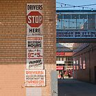 Drivers Stop Here by Gary Chapple