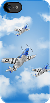 P-51 Iphone_5 by autobotchari